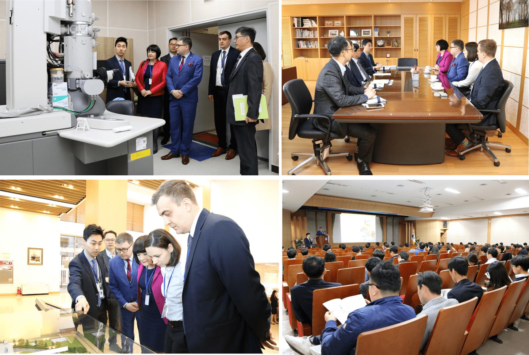 wizyta PCBC w Korei