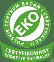 Certyfikowany kosmetyk naturalny EKO